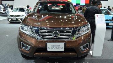 2015 Nissan Navara at the 2014 Thailand International Motor Expo