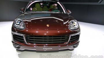 Guanghou Live - India-bound 2015 Porsche Cayenne (facelift)