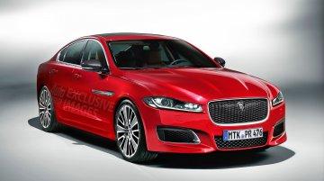2016 Jaguar XF - Rendering Gallery