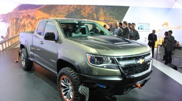 LA Live - Chevrolet Colorado ZR2 Concept