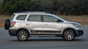 In Images - Chevrolet Spin Activ crossover with external spare wheel for Brazil