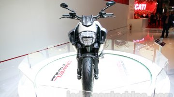 Ducati Diavel Titanium at EICMA 2014