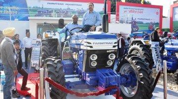 IAB Report - Escorts Farmtrac 6050 4x4 showcased in AgroTech
