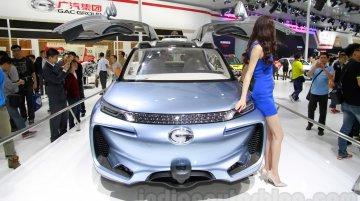 Guangzhou Live - The Guangzhou Auto WitStar concept has a fish tank inside!