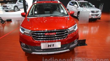 Haval H1 at Guangzhou Auto Show 2014