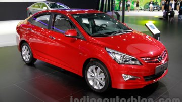 Guangzhou Live - Hyundai Verna Facelift for China