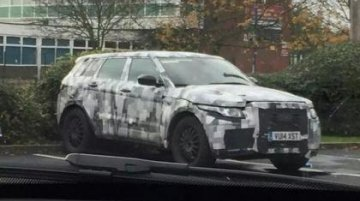 Spied - Jaguar C-X17 SUV starts testing in the UK