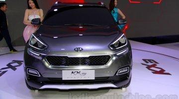 Guangzhou Live - Kia KX3 concept