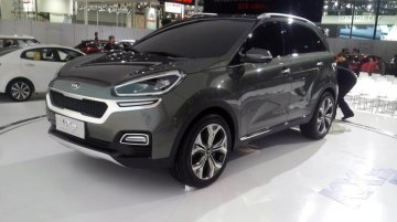Report - Kia KX3 mini SUV concept spotted a day before its unveiling