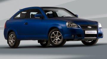 Russia - Lada Priora Coupe axed