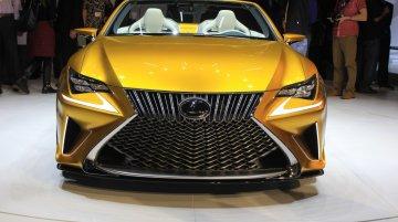 Lexus LF-C2 concept at the 2014 Los Angeles Auto Show