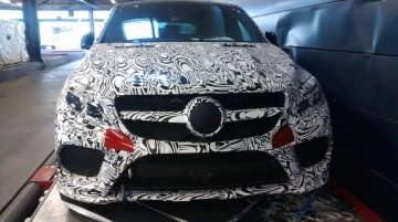 Spied - Mercedes MLC (GLE Coupe) AMG snapped inside and out