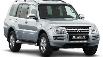 Malaysia - Mitsubishi Pajero facelift launched in Malaysia at INR 53.7 lakhs