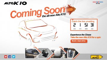 IAB Report - New Maruti Alto K10 gets a microsite ahead of Monday's launch