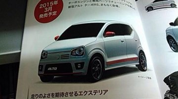 Japan - New Suzuki Alto to get sporty RS Turbo variant, images leaked