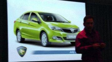Malaysia - Proton Saga 3 gets ready to take on Honda City [Leaked]