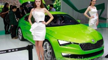 Skoda VisionC Concept at the 2014 Guangzhou Auto Show