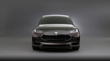 Tesla Model X Concept (Unrelated)