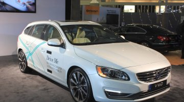 Volvo Drive Me autonomous vehicle at the 2014 Los Angeles Auto Show