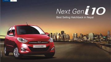 Hyundai i10 to succeed Santro in taxi/cab market - Report