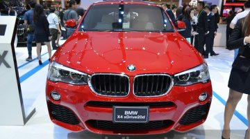 IAB Report - BMW X4 showcased at the Thailand International Motor Expo 2014