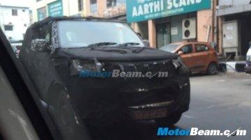 Next generation Mahindra Bolero caught testing in Chennai - Spied