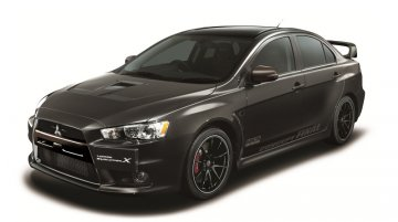 Mitsubishi announces Lancer Evolution X Final Concept - Japan