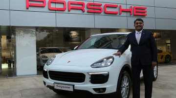 IAB Report - 2015 Porsche Cayenne launched at INR 1.02 crores