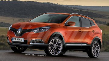 Renault 'Djeyo' compact SUV to premiere on Feb 2 - Rendering