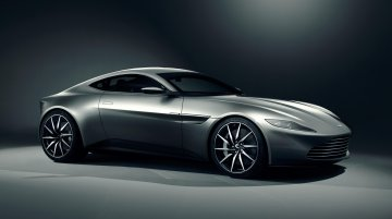 James Bond's Aston Martin DB10 fires up its engine - Video
