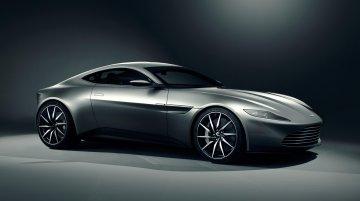 James Bond's Aston Martin DB10 fires up its engine - Video