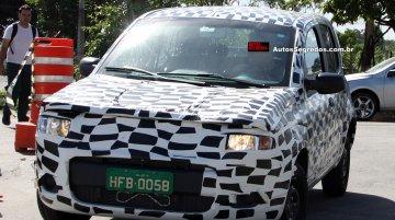 Brazil - Fiat X1H sub-Uno hatchback starts testing