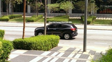 Honda HR-V spotted ahead of imminent launch - Malaysia