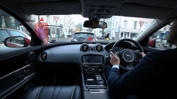 JLR develops transparent pillar & 'Follow Me' ghost Car Navigation concepts - IAB Report