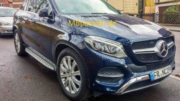 Mercedes GLE Coupe spotted in the open before debut - Video