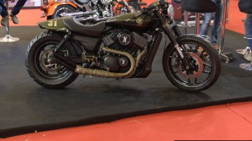 Katunga Uno (customized Harley Davidson Street 750)