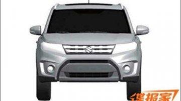 Suzuki Vitara compact SUV patented - China