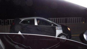 Hyundai Eon facelift tests in Korea - Spied