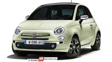 Fiat 500 facelift coming this year - Rendering