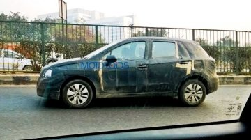 Maruti SX4 S-Cross caught testing again - Spied
