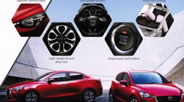 2015 Mazda2 brochure scans surface - Report