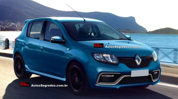 Renault Sandero RS hot hatch to launch in Brazil this year - Rendering