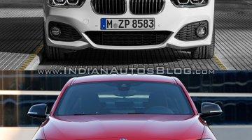 BMW 1 series facelift vs BMW 1 series