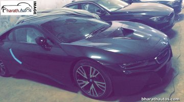 BMW i8 spotted at an Indian dealership, launch next month - Spied