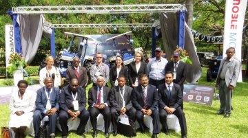 India-made Escorts Farmtrac Heritage 6075 Tractor launched - Tanzania