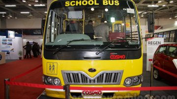 Mahindra Tourister Cosmo, Maxximo school van showcased - IAB Report