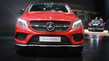 2015 NAIAS Live - Mercedes GLE Coupe and GLE 63 AMG Coupe
