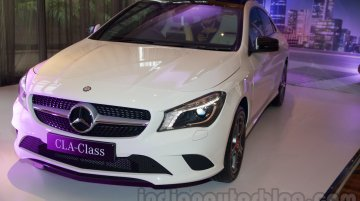 Mercedes CLA launched at INR 31.5 lakhs - IAB Report