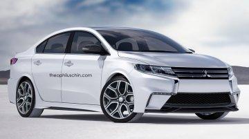 Next generation Mitsubishi Lancer - Rendering