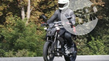 BMW-TVS motorcycle spotted for the first time - Spied